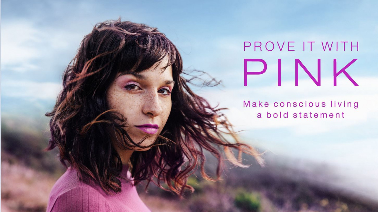 Raspberry Prove it with Pink LinkedIn Photo