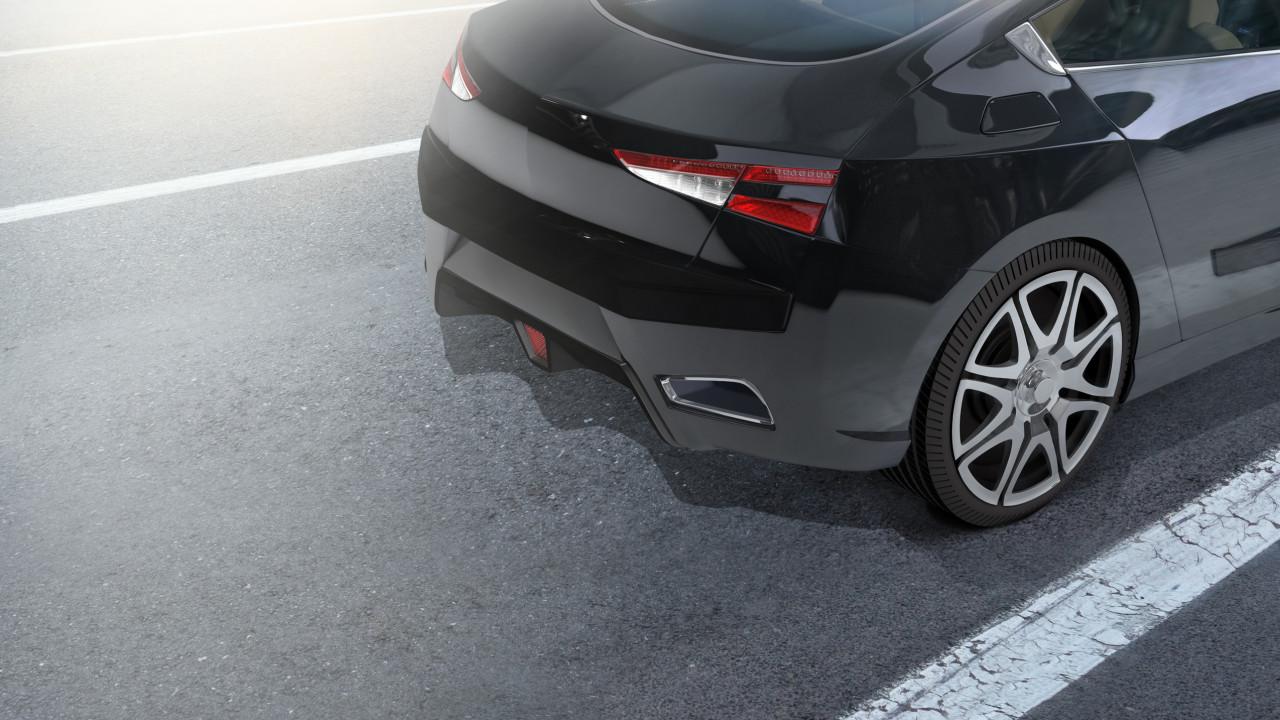 AMC APP black car city streets HiRes
