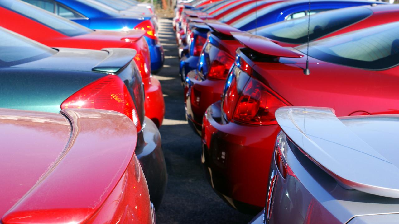 Colorful Car Coatings