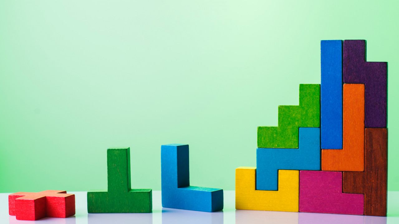 GEN APP abstract construction wooden blocks LoRes