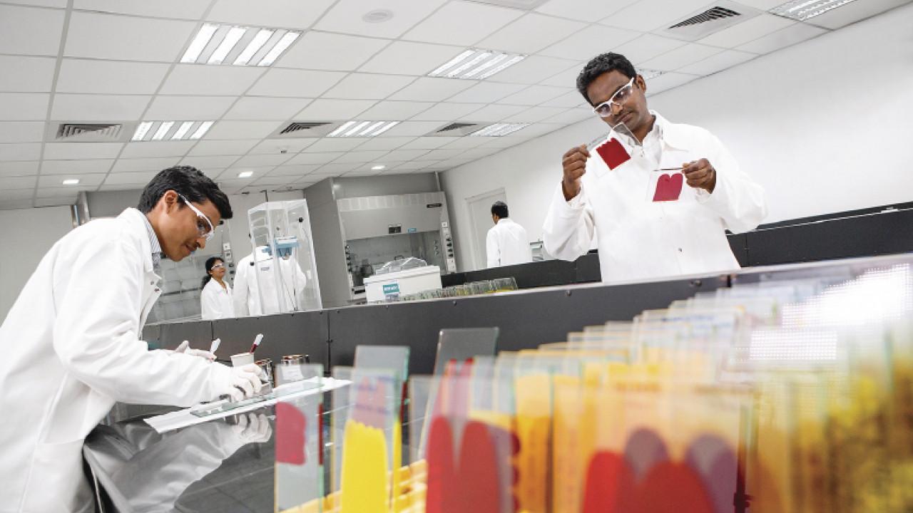 LAB PRO pigment test chemists qualification LoRes