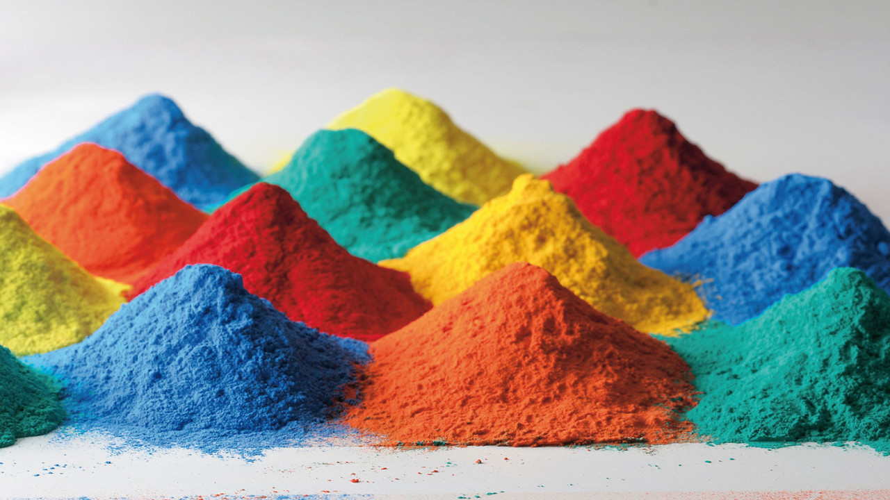 PGT PRO multicolored pigments